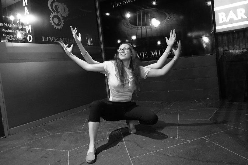 Laura, The Nanaimo Bar, The hub City Project