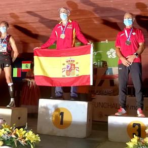 Marc Sempels op een zucht van de Europese Titel!