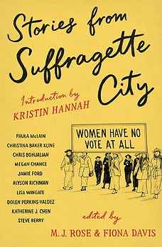 Cover for Stories from Suffragette City by various authors