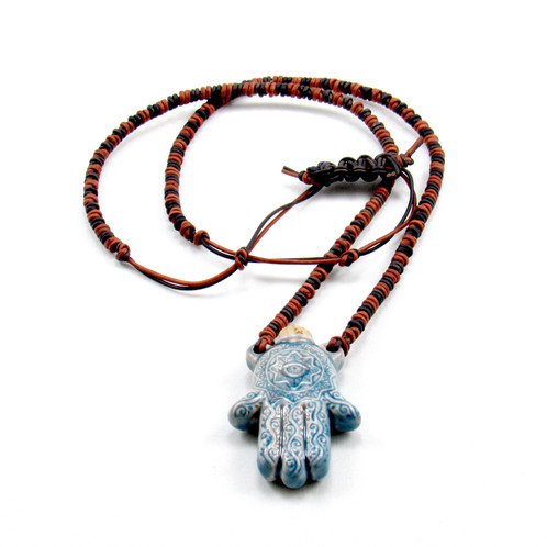 hamsa with evil necklace eye original hand shop at product necklaces