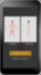 body scan, technologie de prise de mesure Asmdine