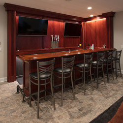 custom basement wetbar.lakehouse