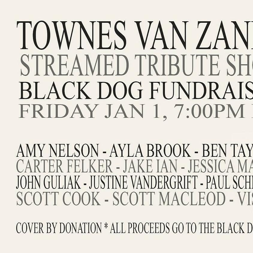 Townes Van Zandt Streamed Tribute Black Dog Fundraiser