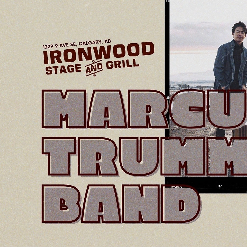 Live At The Ironwood: Marcus Trummer Band EP Release Show (Matinee)