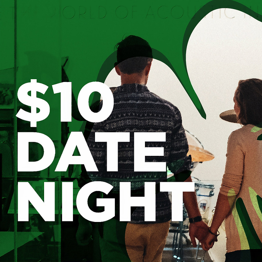 $10 Date Night at Studio Bell: St. Patrick's Day Bash
