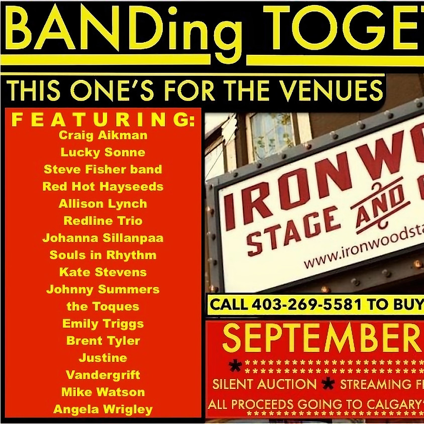 BANDing Together II: Featuring Mike Watson, Craig Aikman & Tim Williams, Kate Stevens, Emily Triggs and Lucky Son... (2)