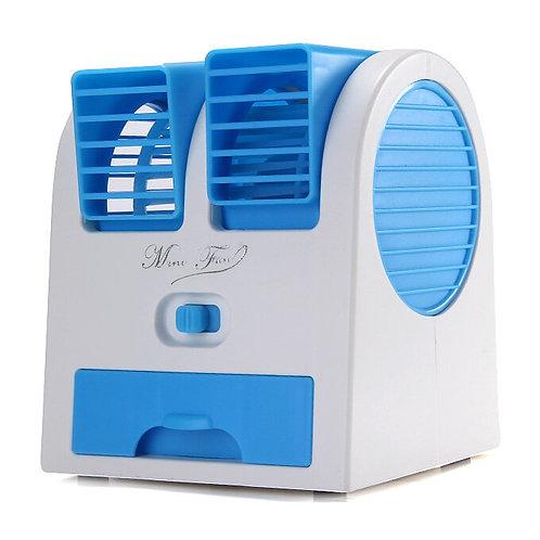 Портативный настольный мини вентилятор Mini Fan с USB