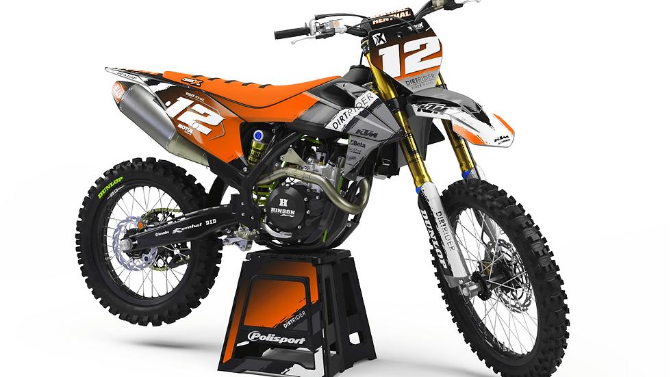 Custom dirt bike Graphics kit KTM PLAYGROUND
