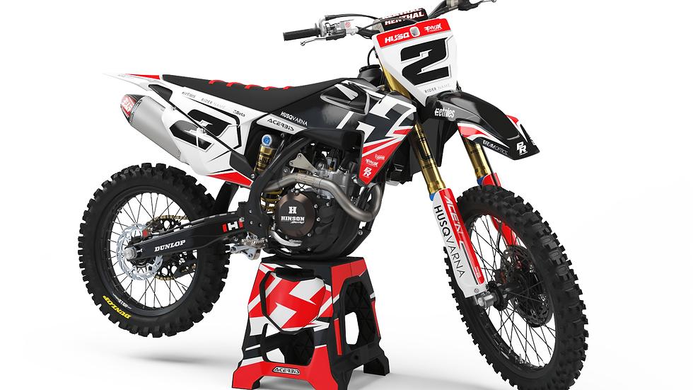 Custom dirt bike Graphics kit Husqvarna DARKS