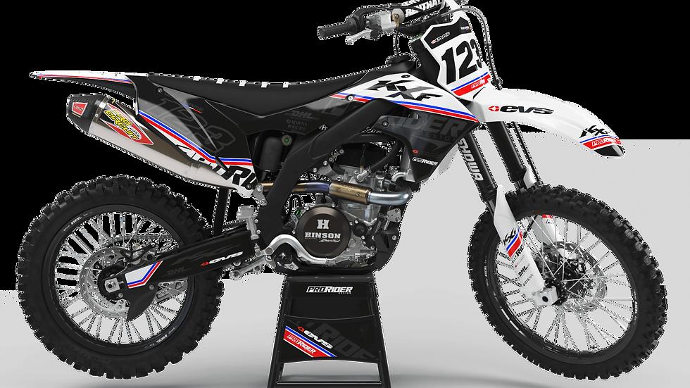 Custom dirt bike Graphics kit KAWASAKI EVS USA