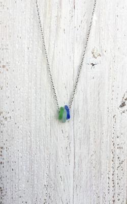 Dainty Sea Glass Necklace