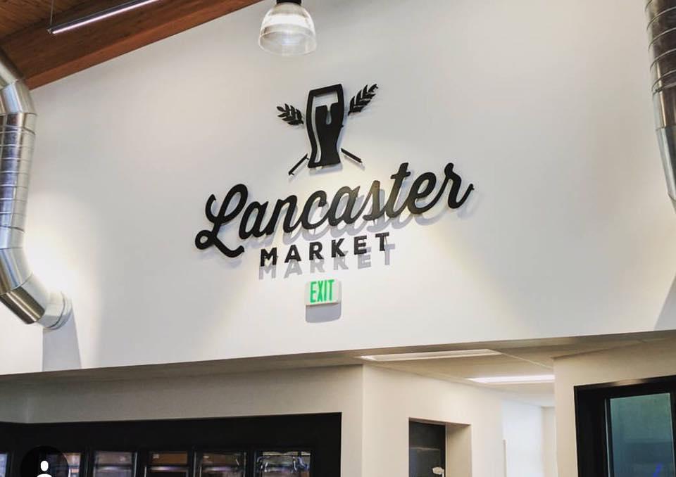 Lancaster Market Sign