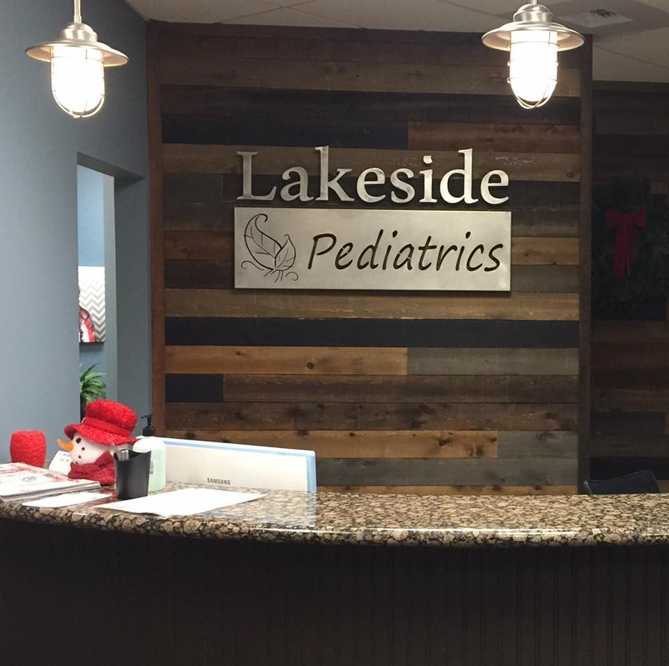 Lakeside Pediatrics Sign
