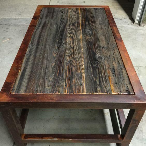 Wood & Metal Table