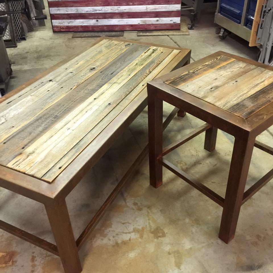 Wood & Metal Tables