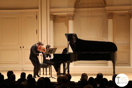 The Ezra Duo @ Weill Recital Hall