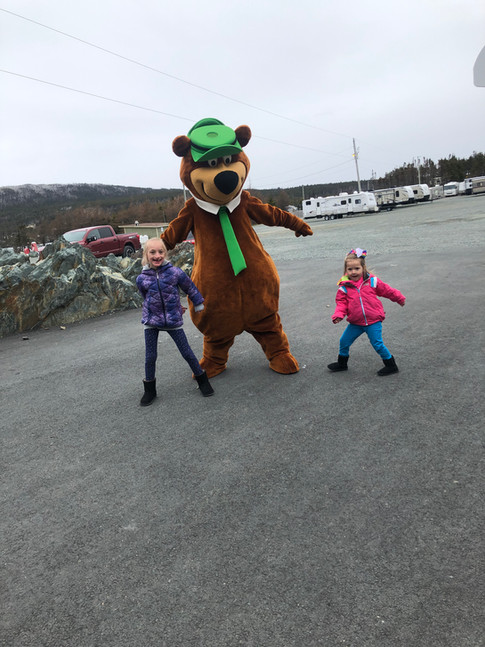 Dancing with Yogi Bear