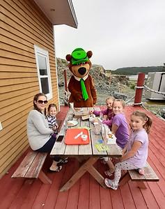 Lunch with Yogi Bear