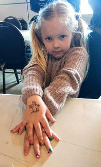 Nail Painting and Tattoos