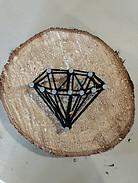 String Art - Diamond
