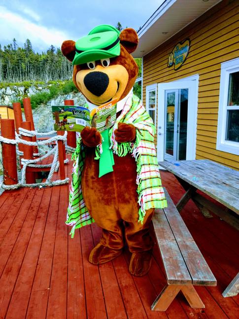 Storytime with Yogi Bear