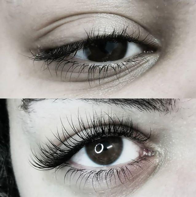 Extension cil à cil😍 on adore_#eyelashe