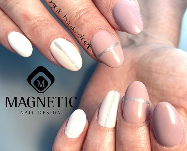 Faux ongle institut de beauté Magnetic