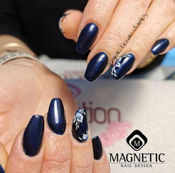 Pose complète Forme Ballerine Nail art One stroke