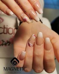 Pose complète avec personnalisation Nail Art