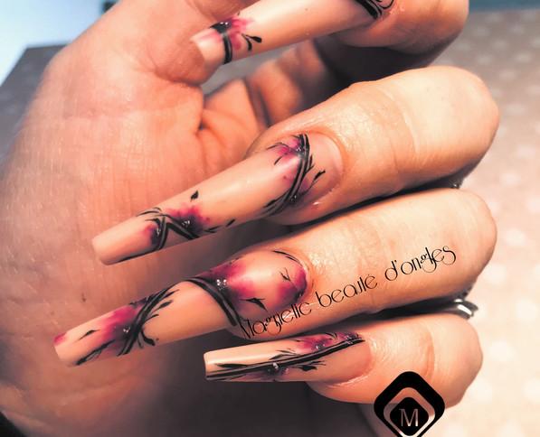 Institut de beauté onglerie Nail art