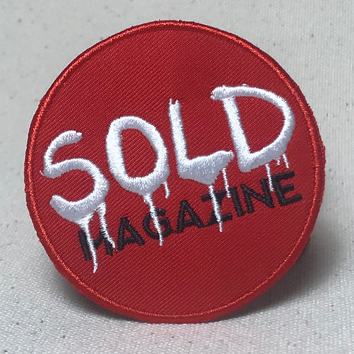 Sold Logo Patch