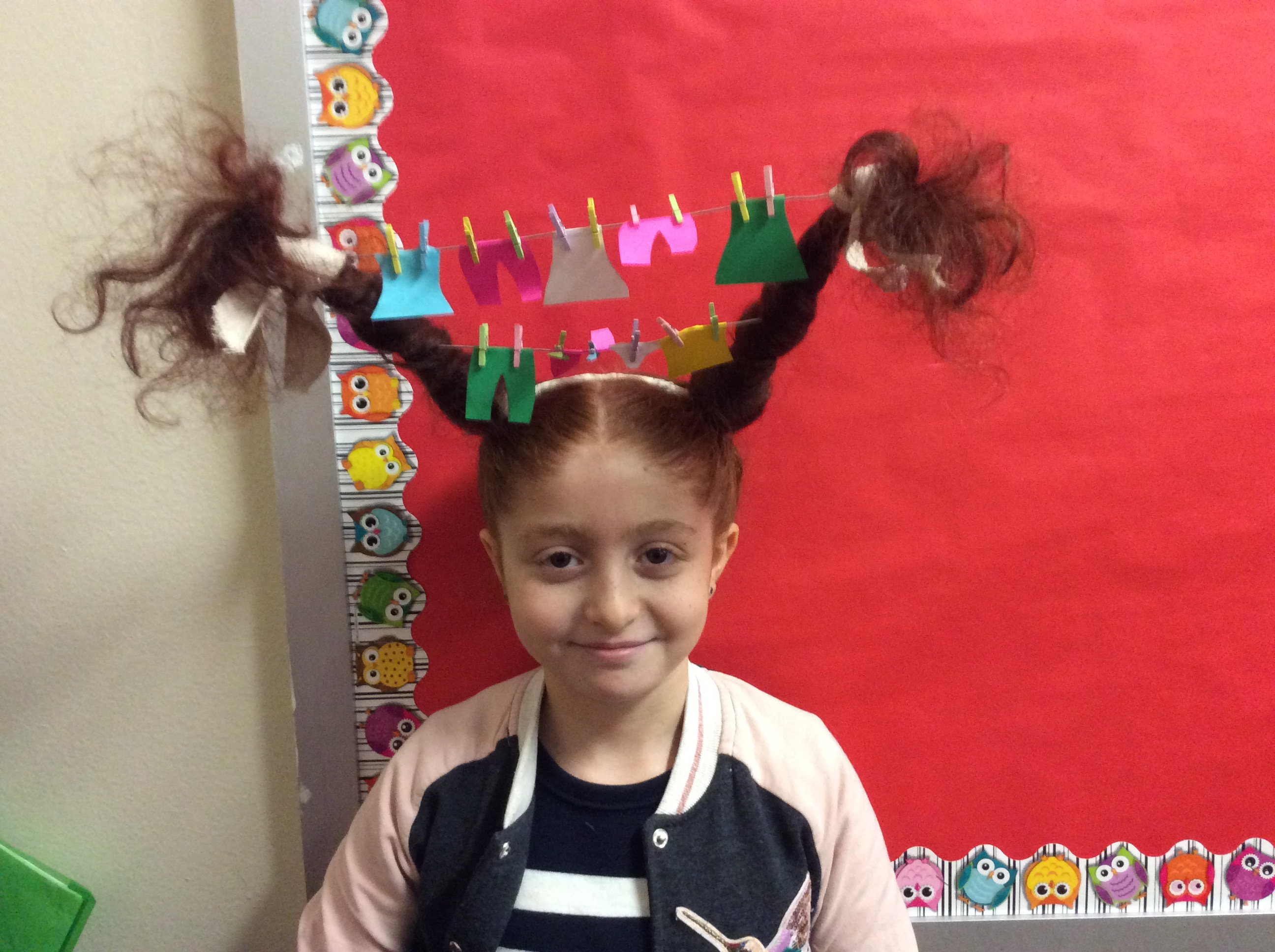 Crazy Hat and Hair Day