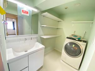 [横浜市]爽やかなグリーンの住設備、マンションフルリノベ