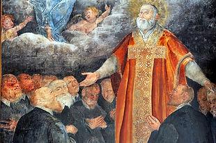 Particolare Quadro San Filippo Neri