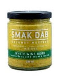 SMAK DAB MUSTARD - WHITE WINE HERB