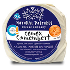 NATURAL PASTURES CHEESE - COMOX CAMEMBERT