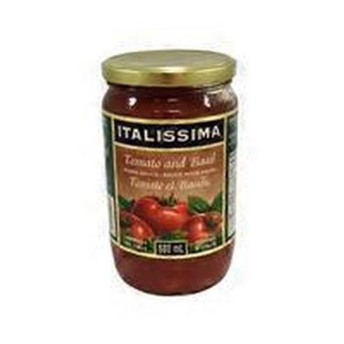 ITALISSIMA - PASTA SAUCE - TOMATO BASIL 680ML