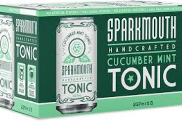 SPARKMOUTH - CUCUMBER MINT TONIC WATER - 6/237ML