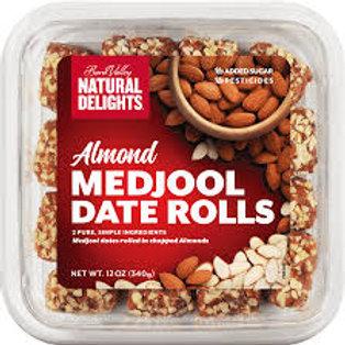 DATE ROLLS - ALMOND