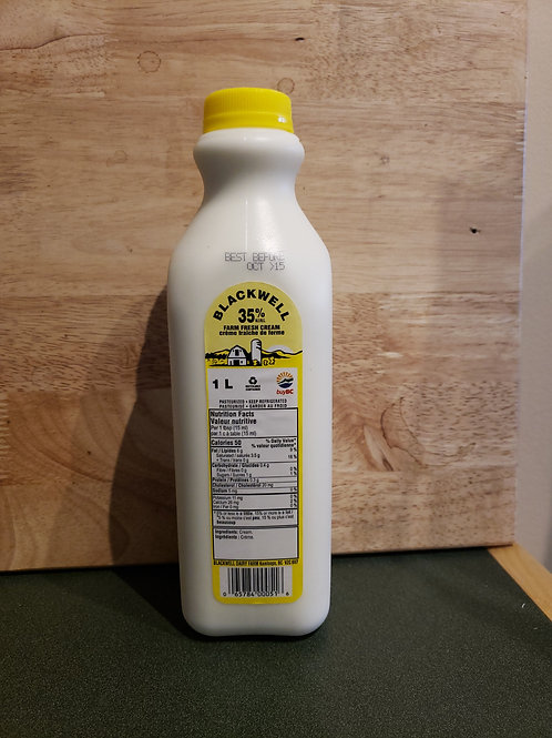 BLACKWELL - WHIPPING CREAM 1L