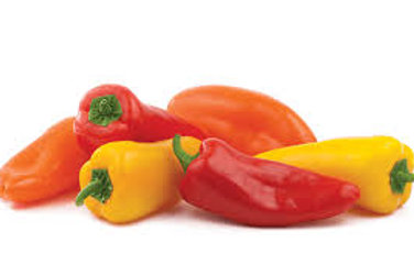 PEPPERS - MINI SWEET - 1 LB BAG