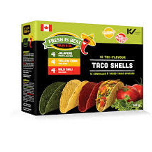 FRESH IS BEST - TRI-FLAVOR TACO SHELL