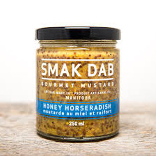 SMAK DAB MUSTARD - HONEY HORSERADISH