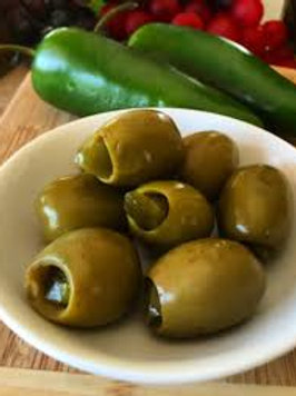 OLIVES - JALAPENO STUFFED