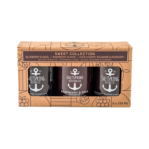 SALTSPRING KITCHEN - SWEET TRIO 3/125ML