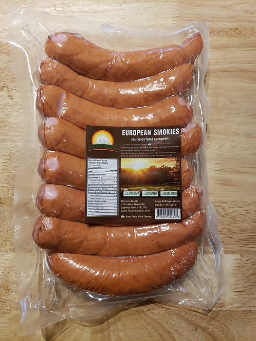 OKANAGAN MADE EUROPEAN SMOKIES - 8PK