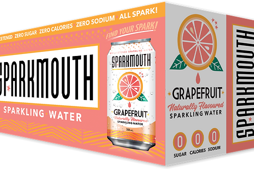 SPARKMOUTH - GRAPEFRUIT SPARKLING WATER - 8X355ML