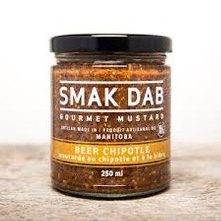 SMAK DAB MUSTARD - BEER CHIPOTLE
