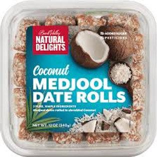 DATE ROLLS - COCONUT