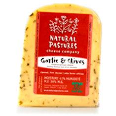 NATURAL PASTURES CHEESE - VERDELAIT - GARLIC & CHIVE